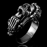 Skull Ring Scream Style