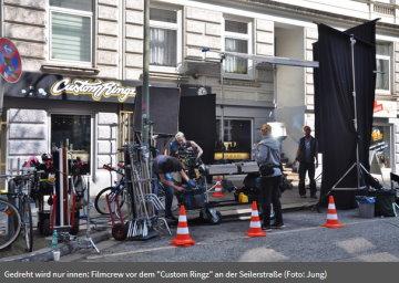 Tatort Dreharbeiten Customringz